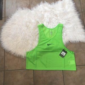 Nike Scrimmage Vest soccer new green
